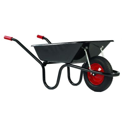 Builders Wheelbarrow The Camden Classic Black 85 Litre